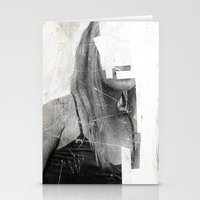 number Stationery Cards featuring Faceless | number 03 by FAMOUS WHEN DEAD