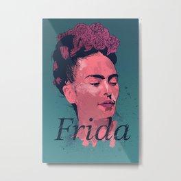 Frida Kahlo - History of Art Metal Print