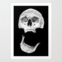 Jaw Drop Art Print
