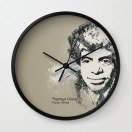 Paruyr Sevak Wall Clock