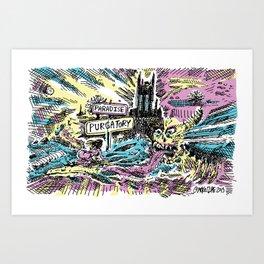 Purgatory & Paradise – #Newport, #RI – #Sunrise Art Print