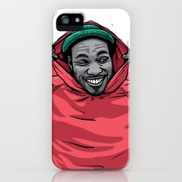 HoodieAndy iPhone Case