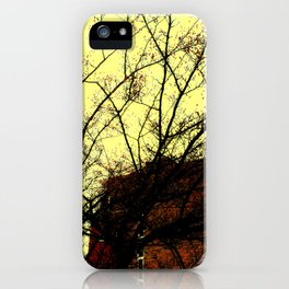 Through Some Branches  iPhone Case