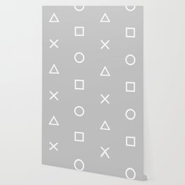 Grey Gamer Wallpaper