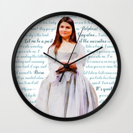 Let Me Be a Part of the Narrative Wall Clock