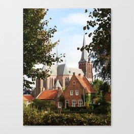 Castle, Huis Bergh, The Netherlands III Canvas Print