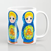mother Mugs featuring MOTHER by Riku Ounaslehto