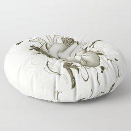 I Love Design Floor Pillow