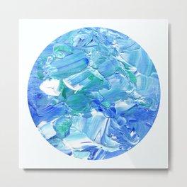 Acrylic Reef [Circle] Metal Print
