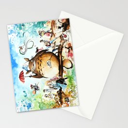 """""""The lovers crossover"""" Stationery Cards"""