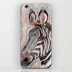 zeberahhhh! iPhone & iPod Skin
