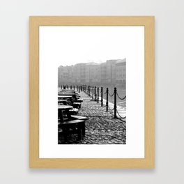 York River Side Framed Art Print