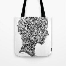 Portrait of spring Tote Bag