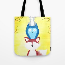 A Furry Friendship Tote Bag