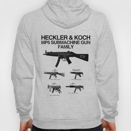 MP5 SUBMACHINE GUN FAMILY Hoody