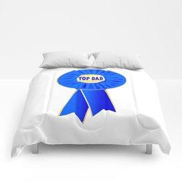 Top Dad Rosette Comforters