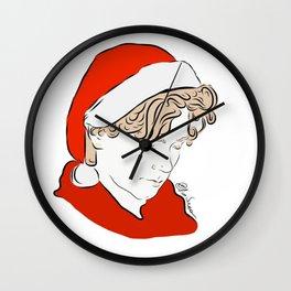 Isak christmas Wall Clock