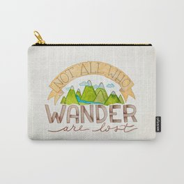 Not All Who Wonder Carry-All Pouch