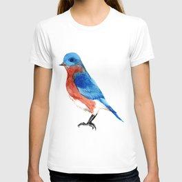 Bluebird i T-shirt