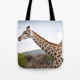Beautiful close-up of Giraffe in South Africa Tote Bag