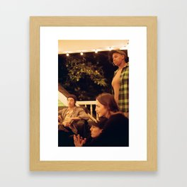 Supper club Framed Art Print