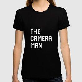 The Cameraman Filmmaking Movie Film School T-shirt