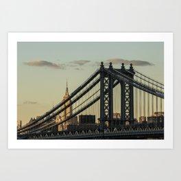 The Bridge And The Empire Art Print