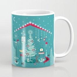 Retro Holiday Decorating ii Coffee Mug