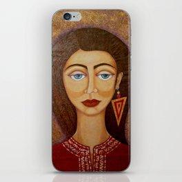 Woman´s Market iPhone Skin