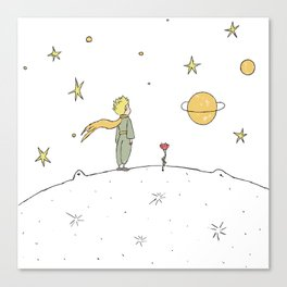 Little Prince II Canvas Print