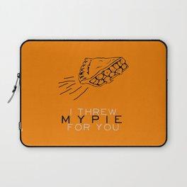 I Threw My Pie for You - Orange is the New Black Laptop Sleeve