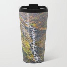 Bird Woman Falls Travel Mug