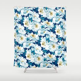 Mount Cook Lily (Night) Shower Curtain