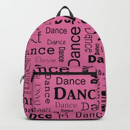 Just Dance - Pink Backpack