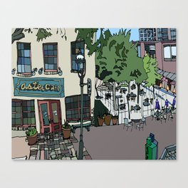 Aster Cafe - Minneapolis, Minnesota Canvas Print