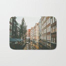 Amsterdam Canals Bath Mat