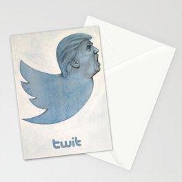 Twit Trump Stationery Cards