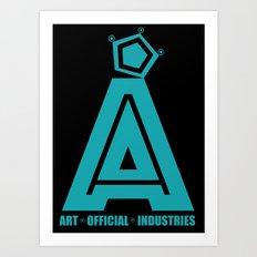 Art Official Industries L1 Art Print