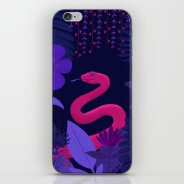 Snake in the Jungle iPhone Skin