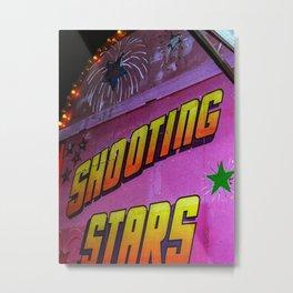 Shooting Stars Metal Print