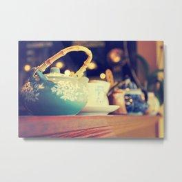 Teapots Metal Print