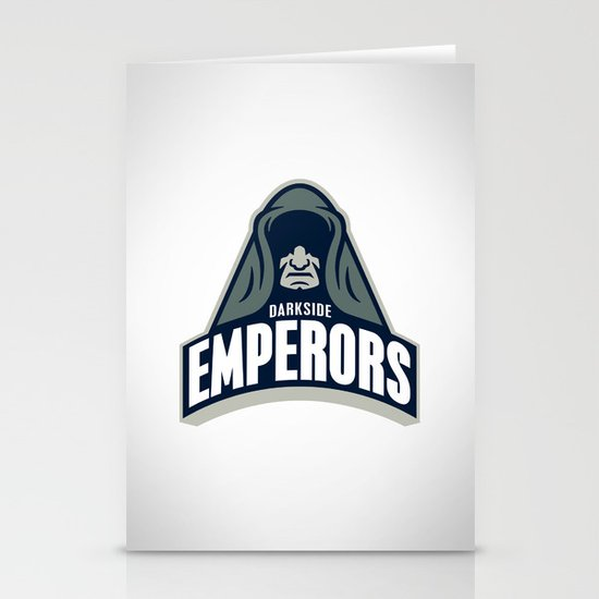 DarkSide Emperors Stationery Cards