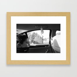 ONLY SOME THINGS CHANGE Framed Art Print