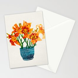 Lily Blossom Stationery Cards