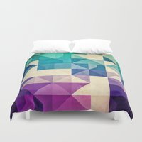 spires Duvet Covers featuring pyrply by Spires