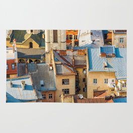 Colors of city Rug
