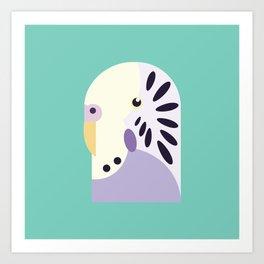 Budgerigar 3 Art Print