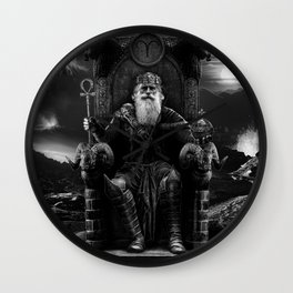 IV. The Emperor  Wall Clock