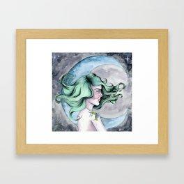 I wish I were the Moon Framed Art Print