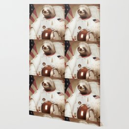 Sloth Astronaut Wallpaper